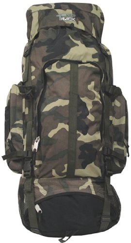 XL Large Camping Backpack 4800 Cu in Hiking Pack Camouflage, Outdoor Stuffs