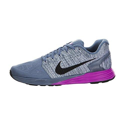 bl Running Wmns Grey hypr sqdrn Nike Gris 7 Donna Lunarglide Scarpe Bl Vlt Blk xSqxa01