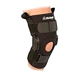 McDavid Classic Logo 429 CL Level 3 Knee Brace W/ Polycentric Hinges - Black - XX-Large