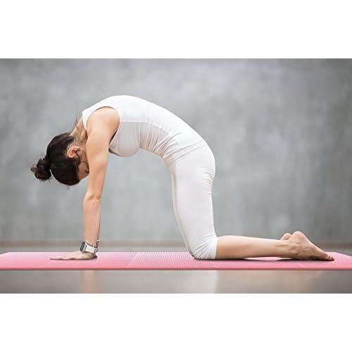 Tapis De Yoga Anti Dérapant Pliable Matelas Sol Pour Yoga - Carrelage salle de bain et tapis yoga epais