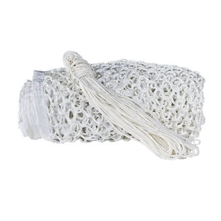 Predator 5mm White Lacrosse Replacement Goal Net Fits 6 Feet x 6 Feet