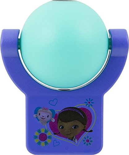Price comparison product image Disney Projectables Doc McStuffins LED Plug-In Night Light,  14530,  Image Projects Onto Wall or Ceiling