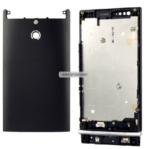 Generic Full Housing Cover compatible for Xperia P LT22 - Black (Full Housing Xperia P compare prices)