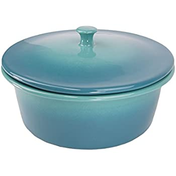 Amazon Com Le Creuset Stoneware Heritage Covered Round