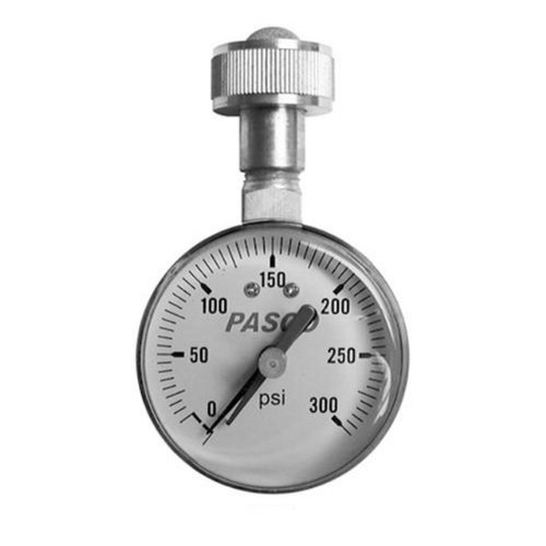 Pasco 1428 0 to 300-Pound Lazy Hand Water Test Gauge Assembly
