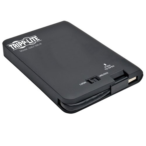 Tripp Lite USB 3.0 Dual Bay External Raid Enclosure 2.5-Inch/3.5-Inch SATA Drive (U357-002)