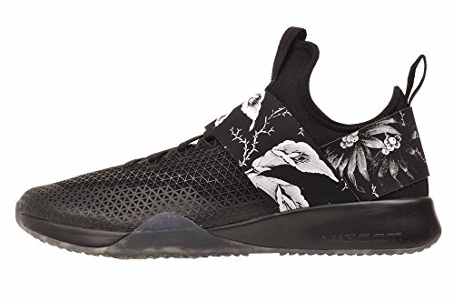 NIKE Women's WMNS Air Zoom Strong, Black/White, 7.5 M US