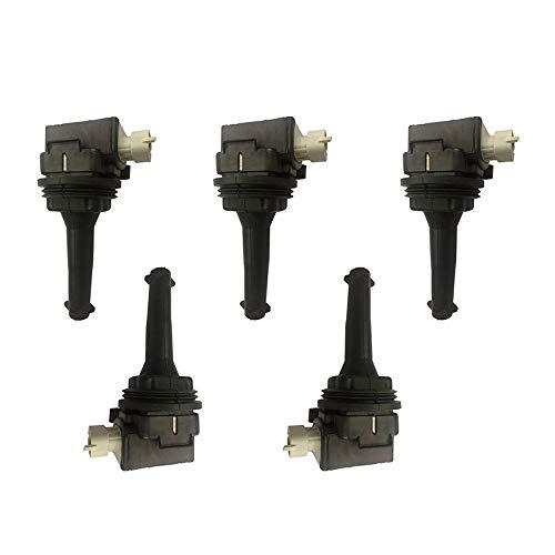 New Ignition Coil For Volvo C30 C70 S40 S60 V50 V70 XC70 2.4L 2.5L Turbo UF517 Car & Truck Parts Coils, Modules & Pick-Ups
