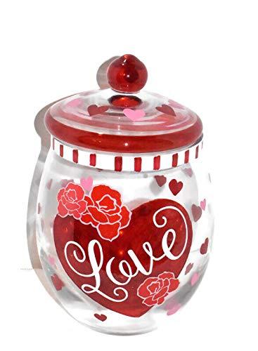 heart candy jar - 3