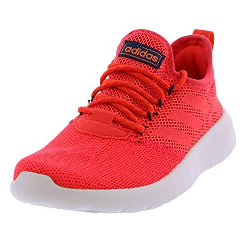 adidas Women's Lite Racer Reborn Running Shoe, Shock red/Shock red/True Orange, 8.5 M US