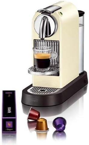Nespresso Citiz White EN165CW DeLonghi - Cafetera monodosis (19 bares, Rejilla adaptable para vaso Macchiato, Modo ...