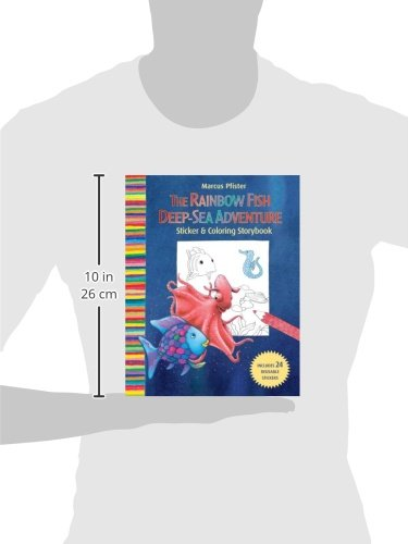 Rainbow fish deep sea adventure sticker and coloring storybook rainbow fish deep sea adventure sticker and coloring storybook marcus pfister 9780735823181 amazon books fandeluxe Image collections