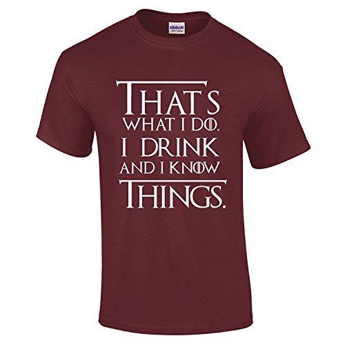 de Apparel Camiseta Advance hombre Burdeos Xd7fExqwx