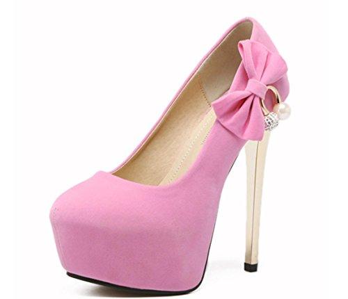 simple princesse Nouvelle chaussure 2017 imperméable XDGG à pink talons l'eau FEMME hauts xn4qIwX1