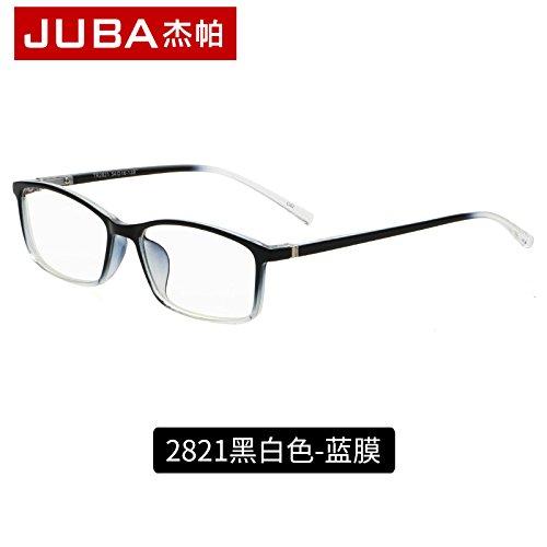 un negro gafas espejo Blue And protectoras brillante Film radiación film y KOMNY White ordenador la gafas Black contra plano Blue Gafas azul zqnOwtv
