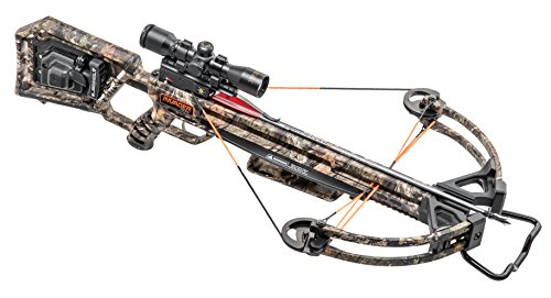 Wicked Ridge by TenPoint Invader X4 Crossbow Package with Multi-Line Scope, Quiver, Arrows, and ACUdraw 50