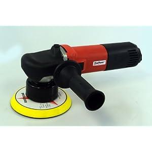 "Gino Development 01-0950 TruePower Variable Speed Dual Action Orbital Sander Polisher, 6"""