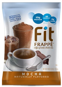 Big Train Fit Frappé Coffee Protein Drink Mix Mocha, Two 3 Lb Bags