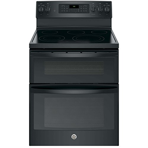 GE JB860DJBB Electric Smoothtop Double Oven Range