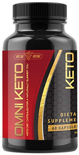 Keto Diet Pills - Weight Loss Fat Burner for Men & Women - Ketogenic Supplement Created to Block Carbs and Balance Out a Healthy Keto Lifestyle - 800mg - 60 Capsules ()