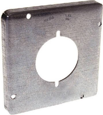 Raco 878 4-11/16'' Square Exposed Work Cover