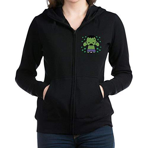Clover Womens Zip Hoodie - CafePress Hulk Clovers Women's Zip Hoodie