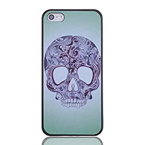DUR Tattoo Skull Pattern Back Case for iPhone 5/5S