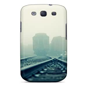 New Style DLBuke Vintage Subway Cars In The Fog Premium Tpu Cover Case For Galaxy S3