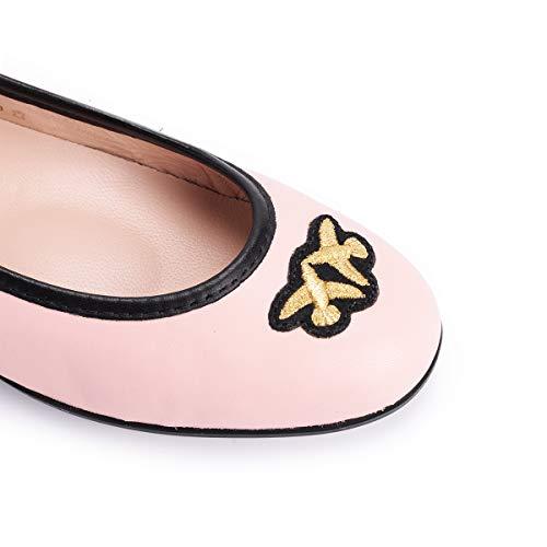 Logo Ballerine In Pelle Pinko Con Esquimese 07xzwAYqX