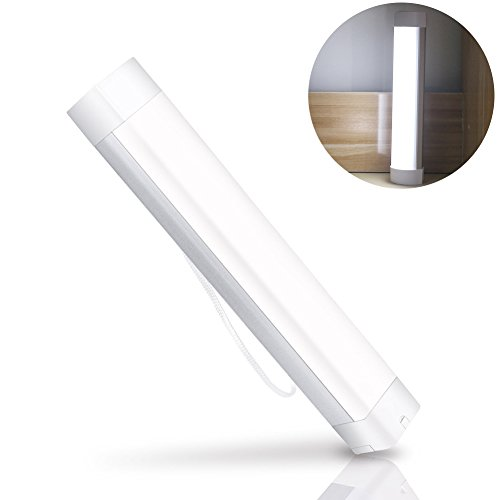 Portable LED Camping Light Stick, XINBAOHONG Emergency Magnetic Work Lamp Lantern, Rechargeable Handy Light for Home Lighting, Outdoor Night Fishing, Hiking,Biking(White) - Examining Lamp