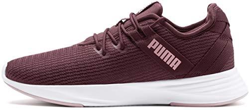 PUMA Women's Radiate XT Sneaker Vineyard Wine-Bridal Rose 9.5 M - Stripes Women Sneakers Red