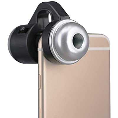 Mimgo Store 30X Zoom Mobile Phone Telescope Camera LED Microscope Lens For iPhone Samsung LG