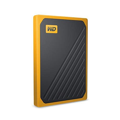 WD 500GB My Passport Go SSD Amber Portable External Storage, USB 3.0 - WDBMCG5000AYT-WESN by Western Digital (Image #2)