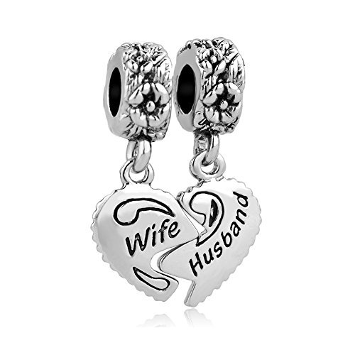 Valentines Day Gifts LovelyJewelry Wife & Husband Charms Love Family Celtic Knot Dangle For Bracelets ()