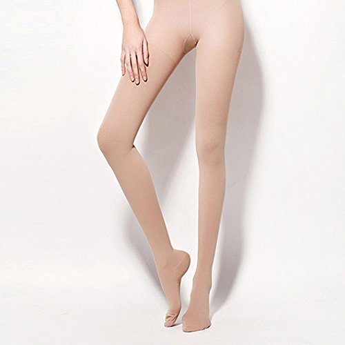 MaiYi Women's 30-40mmHg Compression Pantyhose Tights Stockings Prevention of Varicose Veins Health Care by MaiYi (Image #3)