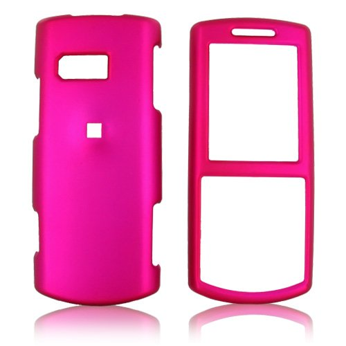 For Samsung Messager II Rubberized Hard Case Rose Pink
