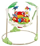 Fisher-Price RAINFOREST JUMPEROO, Comfortable Rotating Seat BABY JUMPER