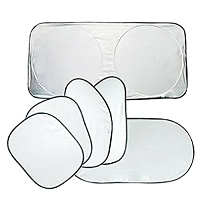 RONGT Car Accessories Sun Window Windshield Car Shade Visible Car Cover Window Cover UV Window Protect Car Window Window 6 pcs / set