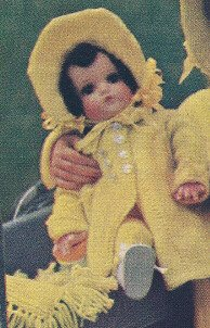 Vintage Knitting PATTERN to make - Doll Clothes 18