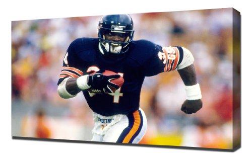 NFL Walter Payton 1 - Canvas Art Print