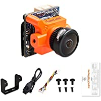 RunCam FPV Camera Micro Swift 2 2.3mm Lens OSD 5-36V FOV 145 Degree CCD NTSC IR Blocked for Racing Drone Quadcopter (Orange)