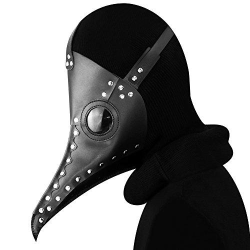 HY Halloween Plague Beak Mask Party Props Masquerade