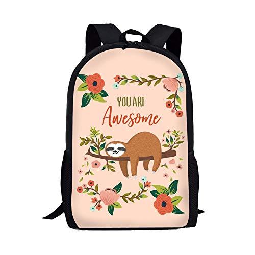 Showudesigns Kids Girls Flower Backpack