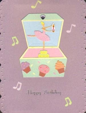 Amazon.com: Feliz cumpleaños – bailarina caja de música ...
