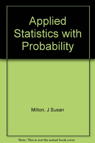 Applied Statistics with Probability
