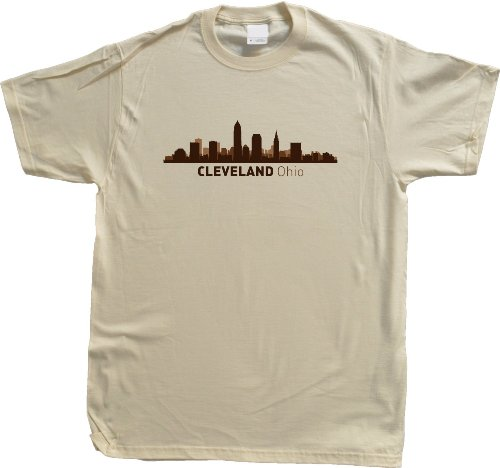Cleveland, OH City Skyline Unisex T-shirt Ohio Hometown Pride Tee