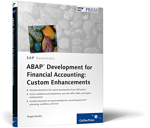 ABAP Development for Financial Accounting: Custom Enhancements