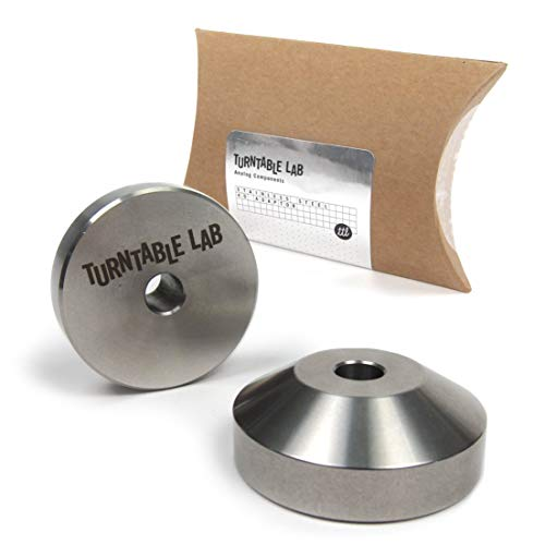 Turntable Lab: Stainless Steel 45 Record Adapter for 7
