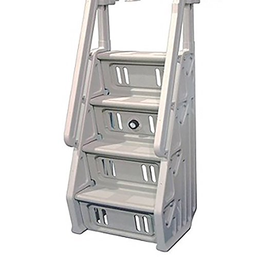 Vinyl Works in-Step Ladder for Pools 46-60 Inches Tall