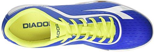 Diadora 7fifty Id, Zapatillas De Fútbol Sala Para Hombre Azul (Azzurro/bianco)